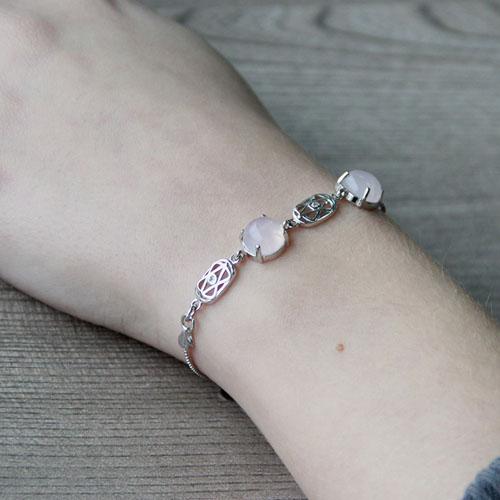 bracelet femme argent cristal 9500160 pic5