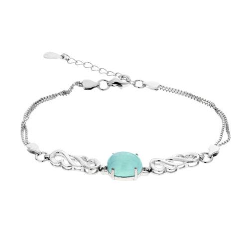 bracelet femme argent diamant 9500130