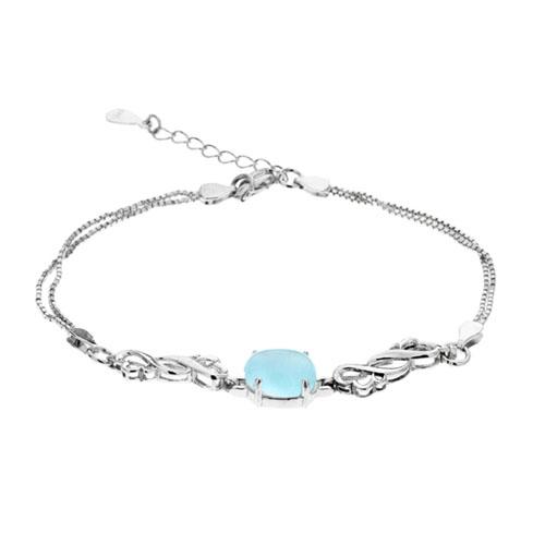 bracelet femme argent diamant 9500131