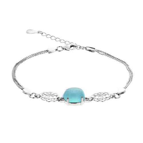 bracelet femme argent diamant 9500132