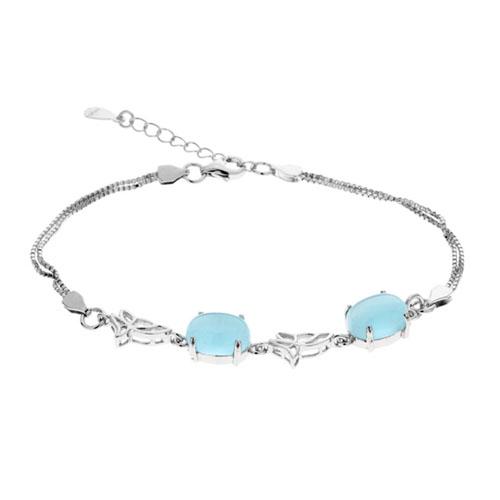bracelet femme argent diamant 9500133