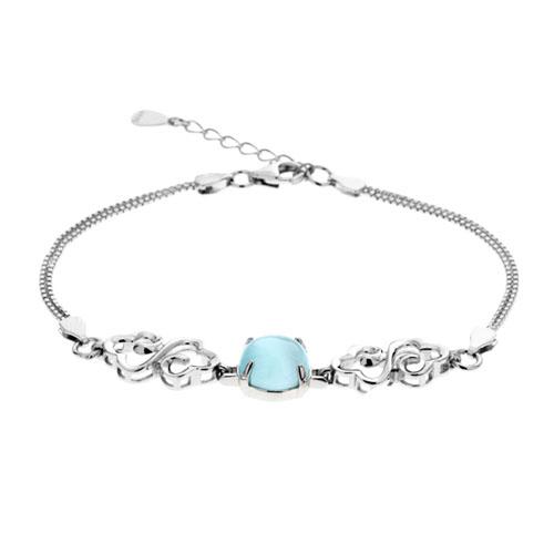 bracelet femme argent diamant 9500134