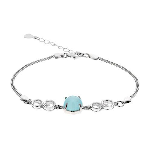 bracelet femme argent diamant 9500135