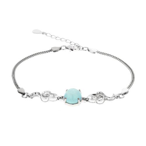 bracelet femme argent diamant 9500136