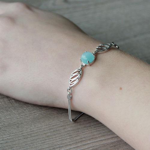 bracelet femme argent diamant 9500137 pic5