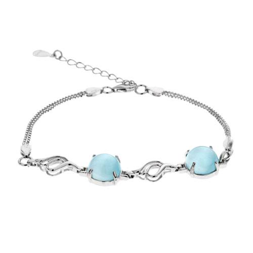 bracelet femme argent diamant 9500138