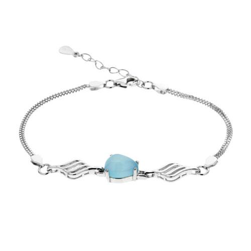 bracelet femme argent diamant 9500139