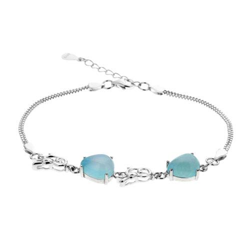 bracelet femme argent diamant 9500140