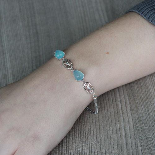 bracelet femme argent diamant 9500141 pic4