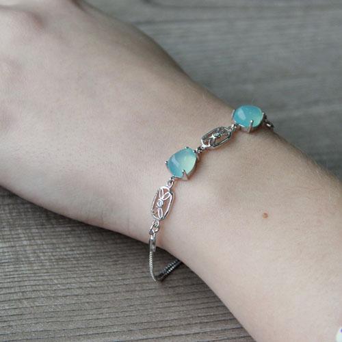 bracelet femme argent diamant 9500141 pic5