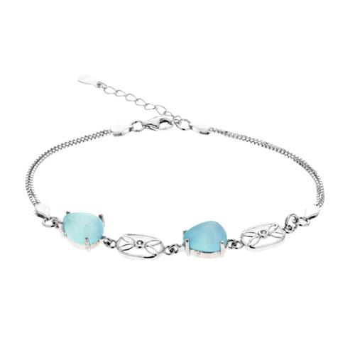 bracelet femme argent diamant 9500141