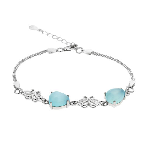 bracelet femme argent diamant 9500142