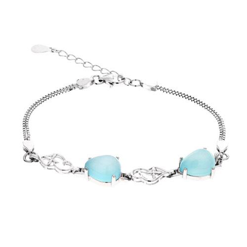 bracelet femme argent diamant 9500143