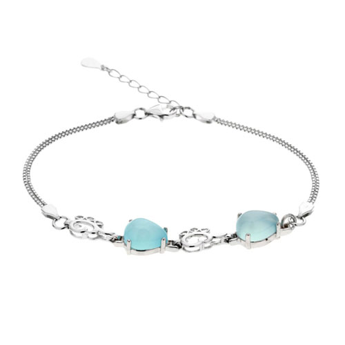 bracelet femme argent diamant 9500144