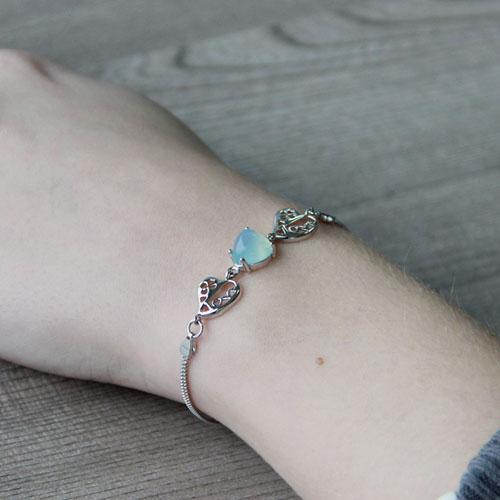 bracelet femme argent diamant 9500162 pic5