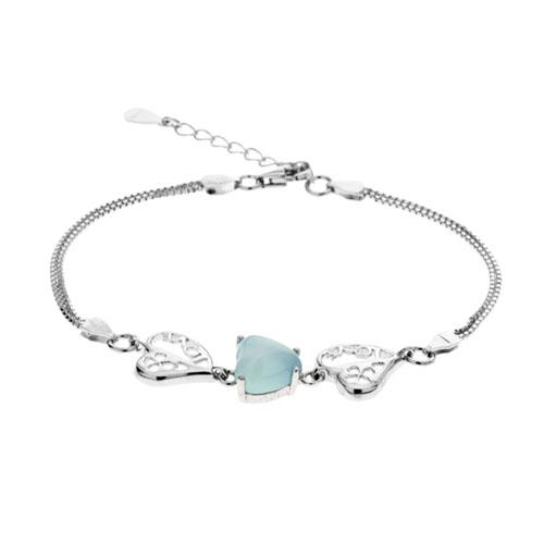 bracelet femme argent diamant 9500162