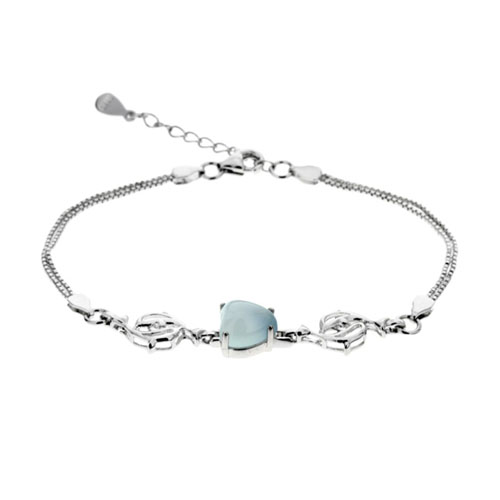 bracelet femme argent diamant 9500163