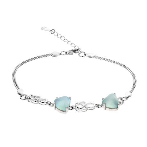 bracelet femme argent diamant 9500164