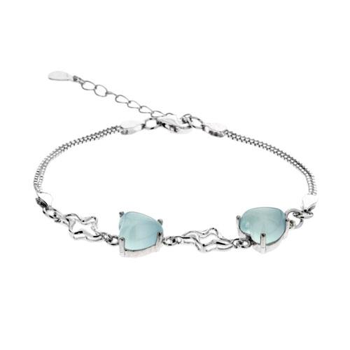 bracelet femme argent diamant 9500165