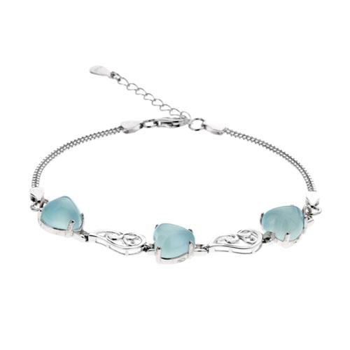 bracelet femme argent diamant 9500166