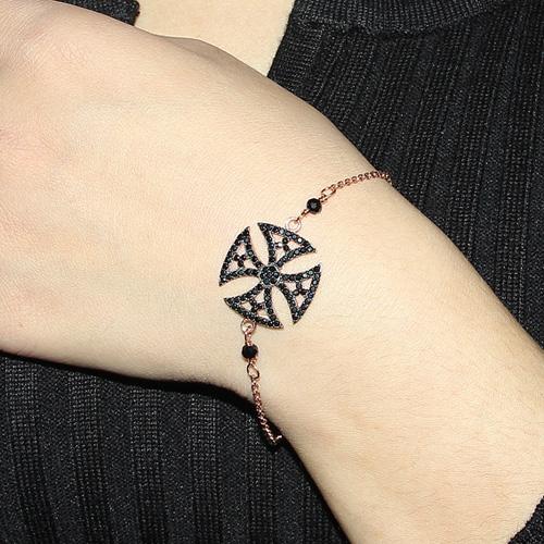 bracelet femme argent zirconium 9500003 pic4