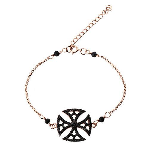 bracelet femme argent zirconium 9500003