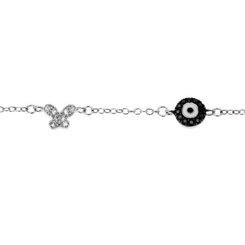 bracelet femme argent zirconium 9500008 pic2
