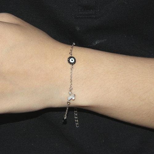 bracelet femme argent zirconium 9500008 pic4