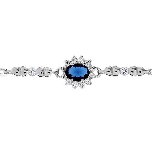 bracelet femme argent zirconium 9500011 pic2