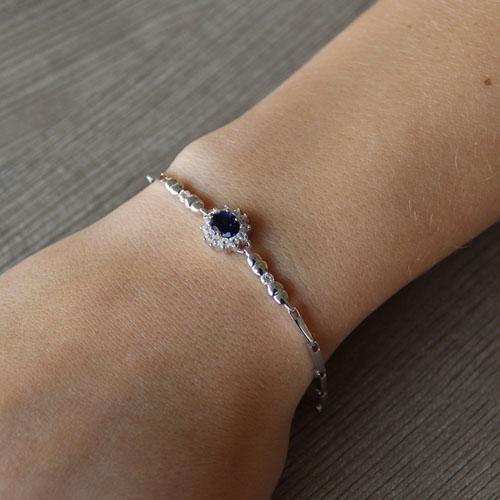 bracelet femme argent zirconium 9500011 pic4