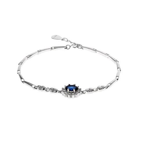 bracelet femme argent zirconium 9500011