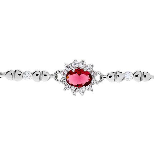 bracelet femme argent zirconium 9500012 pic2