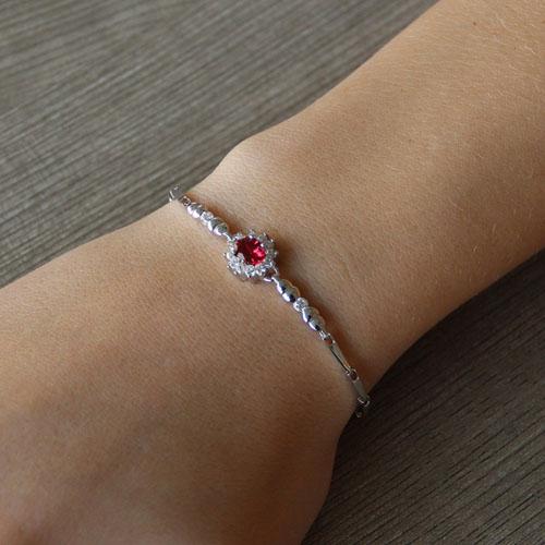 bracelet femme argent zirconium 9500012 pic4