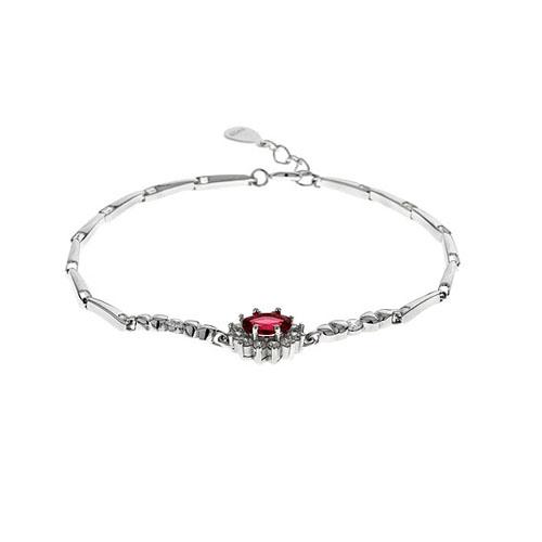 bracelet femme argent zirconium 9500012