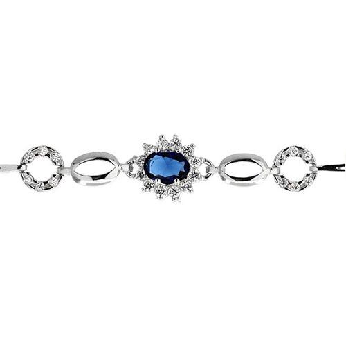 bracelet femme argent zirconium 9500014 pic2