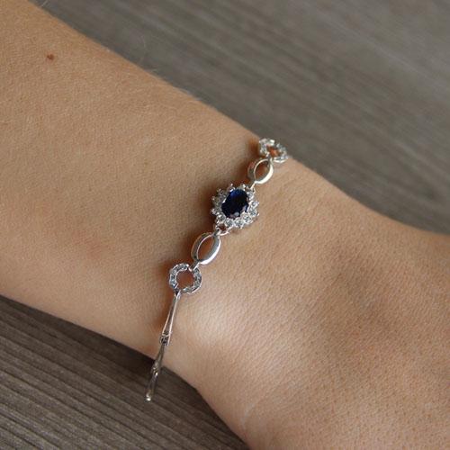 bracelet femme argent zirconium 9500014 pic4