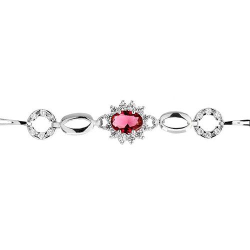 bracelet femme argent zirconium 9500015 pic2