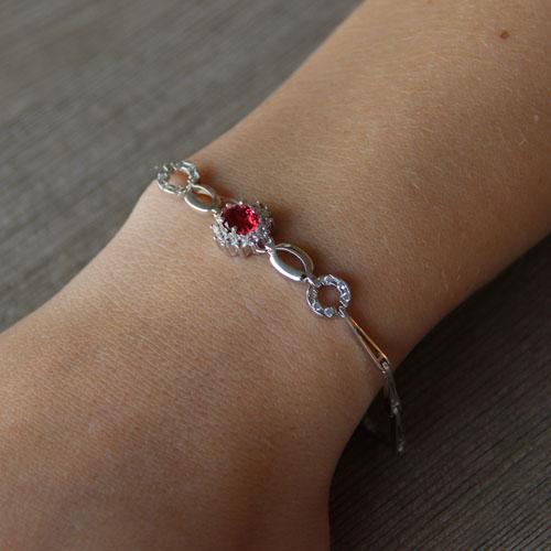 bracelet femme argent zirconium 9500015 pic4