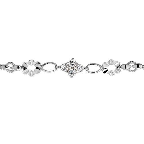 bracelet femme argent zirconium 9500027 pic2