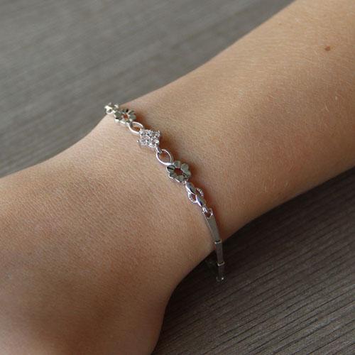 bracelet femme argent zirconium 9500027 pic4