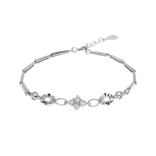 bracelet femme argent zirconium 9500027