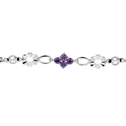 bracelet femme argent zirconium 9500028 pic2