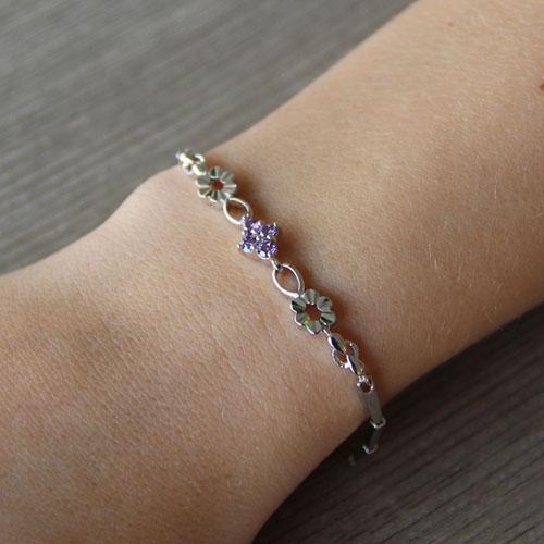 bracelet femme argent zirconium 9500028 pic4