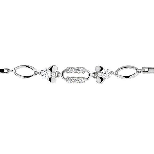 bracelet femme argent zirconium 9500031 pic2