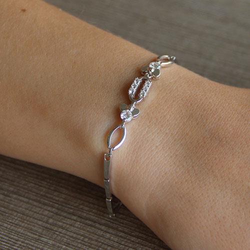 bracelet femme argent zirconium 9500031 pic4