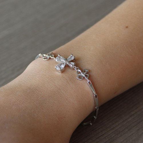 bracelet femme argent zirconium 9500033 pic4