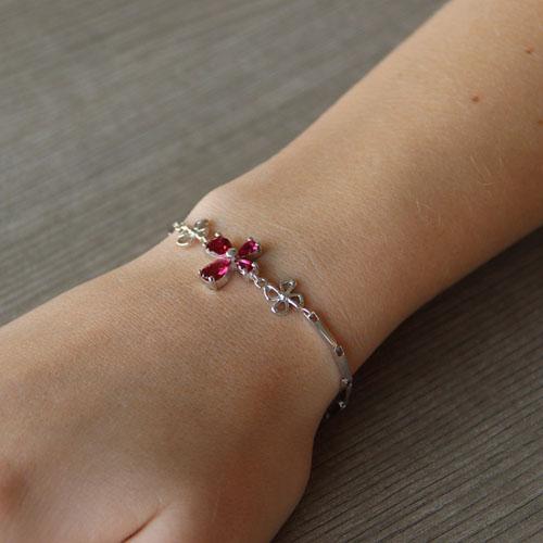 bracelet femme argent zirconium 9500035 pic4