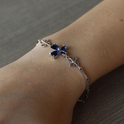 bracelet femme argent zirconium 9500036 pic4