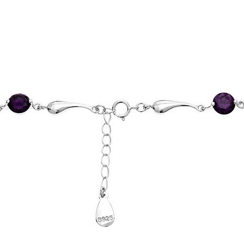 bracelet femme argent zirconium 9500038 pic3