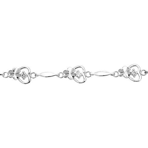 bracelet femme argent zirconium 9500040 pic2